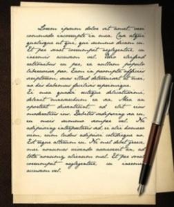 Mis ejercicios de traducción: Сплин. Письмо