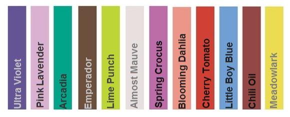 colours pantone